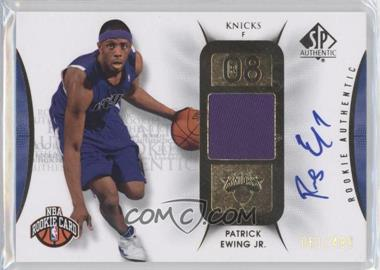 2008-09 SP Authentic #112 - Patrick Ewing /499