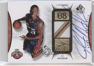 2008-09 SP Authentic #119 - J.J. Hickson /499