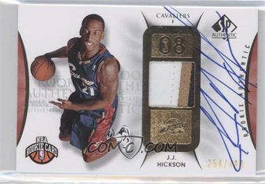 2008-09 SP Authentic #119 - J.J. Hickson /499