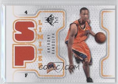 2008-09 SP Retail Limited #SPL-AR - Anthony Randolph