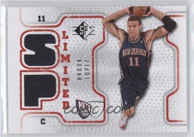 2008-09 SP Retail Limited #SPL-BL - Brook Lopez