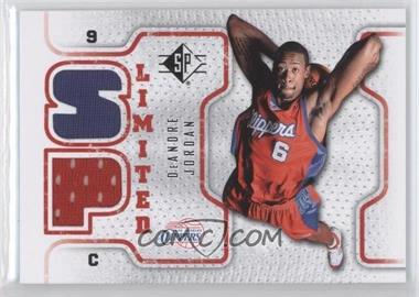 2008-09 SP Retail Limited #SPL-DJ - DeAndre Jordan