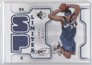 2008-09 SP Retail Limited #SPL-JM - JaVale McGee