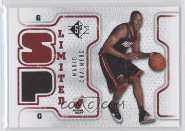 2008-09 SP Retail Limited #SPL-MC - Mario Chalmers