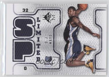 2008-09 SP Retail Limited #SPL-OM - O.J. Mayo