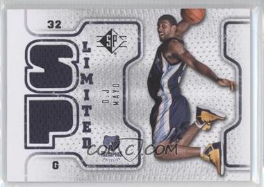 2008-09 SP Retail Limited #SPL-OM - O.J. Mayo