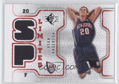 2008-09 SP Retail Limited #SPL-RA - Ryan Anderson