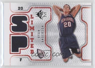 2008-09 SP Retail Limited #SPL-RA - Ryan Anderson