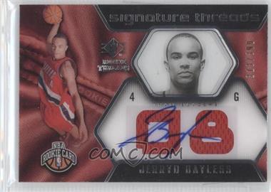 2008-09 SP Rookie Threads - [Base] #100 - Jerryd Bayless /399
