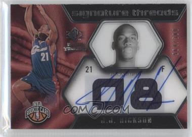 2008-09 SP Rookie Threads - [Base] #79 - J.J. Hickson /599
