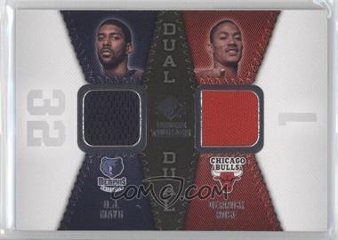 2008-09 SP Rookie Threads - Rookie Threads Dual #RTD-MR - Derrick Rose, O.J. Mayo