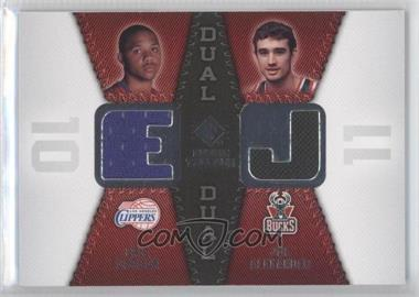 2008-09 SP Rookie Threads Rookie Threads Dual #RTD-GA - Joe Alexander, Eric Gordon