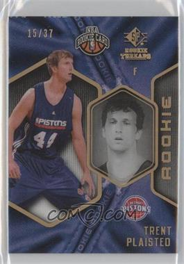 2008-09 SP Rookie Threads SP Rookie Draft #66 - Trent Plaisted /37