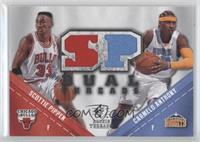 Scottie Pippen, Carmelo Anthony