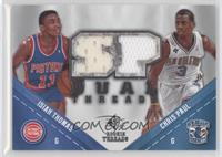 Chris Paul, Isiah Thomas