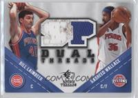 Bill Laimbeer, Rasheed Wallace