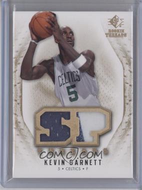 2008-09 SP Rookie Threads SP Threads Jersey/Patch #T-KG - Kevin Garnett