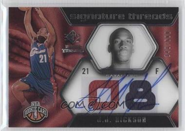 2008-09 SP Rookie Threads #79 - J.J. Hickson /599