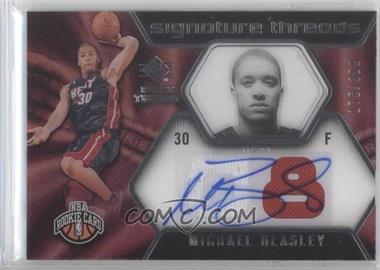 2008-09 SP Rookie Threads #96 - Michael Beasley /399