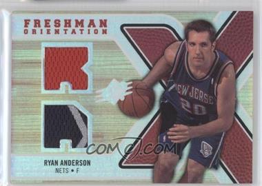 2008-09 SPx Freshman Orientation Jerseys #FO-RA - Ryan Anderson