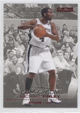 2008-09 Skybox Ruby #145 - Michael Finley /50