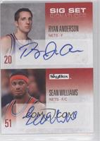 Ryan Anderson, Sean Williams /25