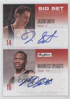 Jason Smith, Marreese Speights /25