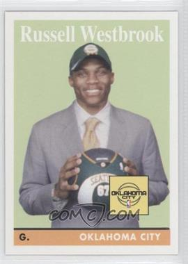 2008-09 Topps 1958-59 Variations #199 - Russell Westbrook