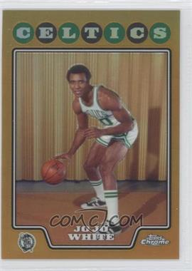 2008-09 Topps Chrome Gold Refractor #176 - Jo Jo White /50