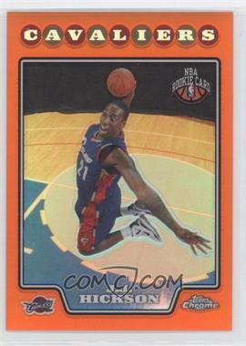 2008-09 Topps Chrome Orange Refractor #198 - J.J. Hickson /499