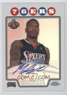 2008-09 Topps Chrome Refractor #235 - Marreese Speights /476
