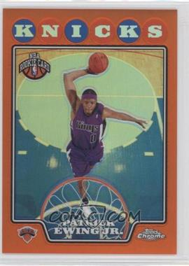 2008-09 Topps Chrome Retail Orange Refractor #214 - Patrick Ewing /499
