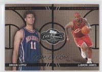 Brook Lopez, Lebron James /399