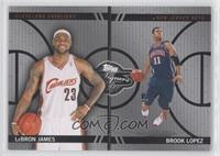 Lebron James, Brook Lopez /99