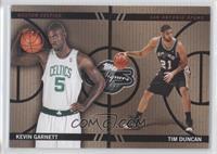 Tim Duncan, Kevin Garnett /399