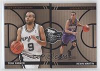 Tony Parker, Kevin Martin /399