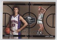 Steve Nash, Larry Bird /399