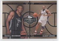 Russell Westbrook, Gilbert Arenas /399