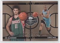 Joe Alexander, Chris Paul /399