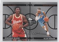 Dominique Wilkins, Allen Iverson /99