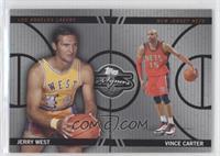 Jerry West, Vince Carter /99