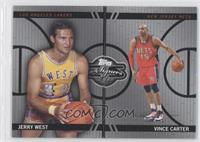 Jerry West, Vince Carter /99