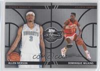 Allen Iverson, Dominique Wilkins /99