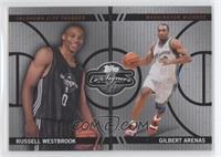 Russell Westbrook, Gilbert Arenas /99