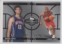 Brook Lopez, Lebron James /99