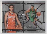 D.J. Augustin, Paul Pierce /99