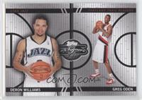 Deron Williams, Greg Oden /899