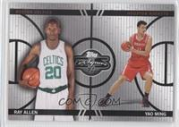 Ray Allen, Yao Ming /899