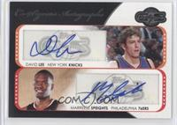 David Lee, Marreese Speights /240