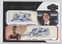 Mike Miller, Marreese Speights /240